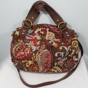 Relic Paisley Crossbody Handbag Purse